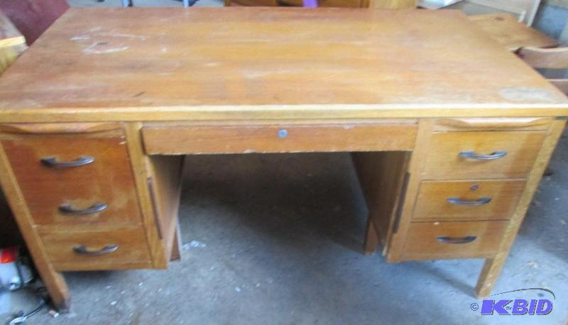 Solid Wood Work Desk 34 X 60 Inch Top