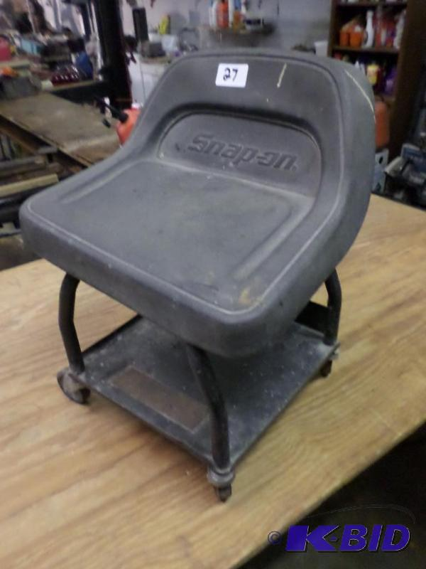 Snap On Rolling Work Stool Le Auto Shop Liquidation