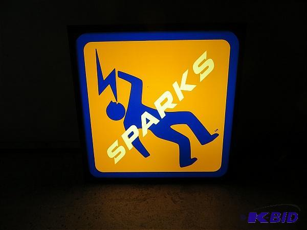 Sparks Lighted Sign | March Beer Neons and Signs | K-BID
