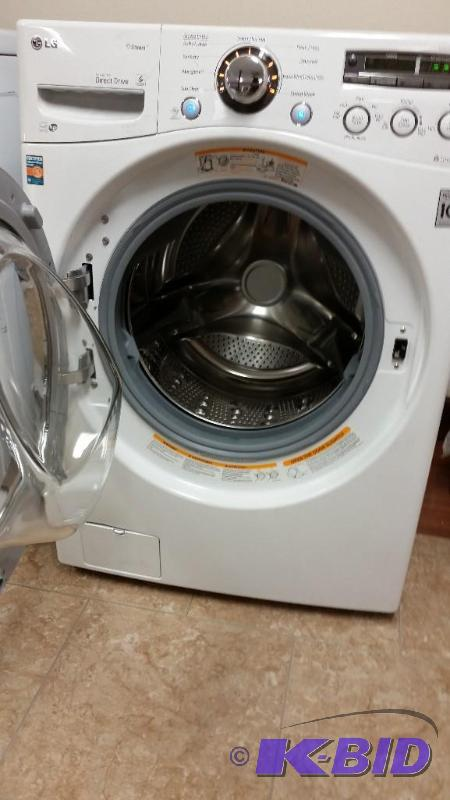 Lg Front Loading Washer 4 O Cubic Feet New Lg Scratch