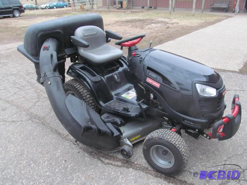 2014 Craftsman 30 Hp Garden Tractor : Craftsman hp quot mower wft lawn mowers and