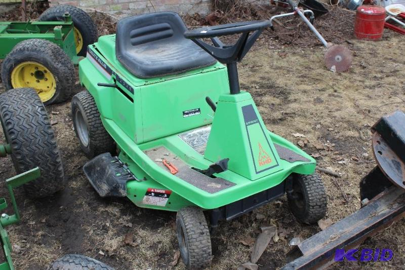 Deutz Allis 8 Hp 30 Riding Lawn Mower Vintage Mowers