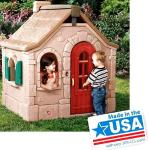 Outdoor Playhouse by Step 2; possibly Storybo...
