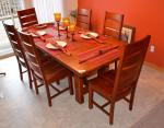 "Beautiful solid wood table - 39x 84"" w..."