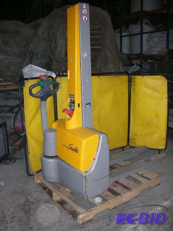 Multiton Mic Electric Pallet Jack