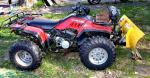 Honda Fourtrax 350 model 1986 with snow blade...