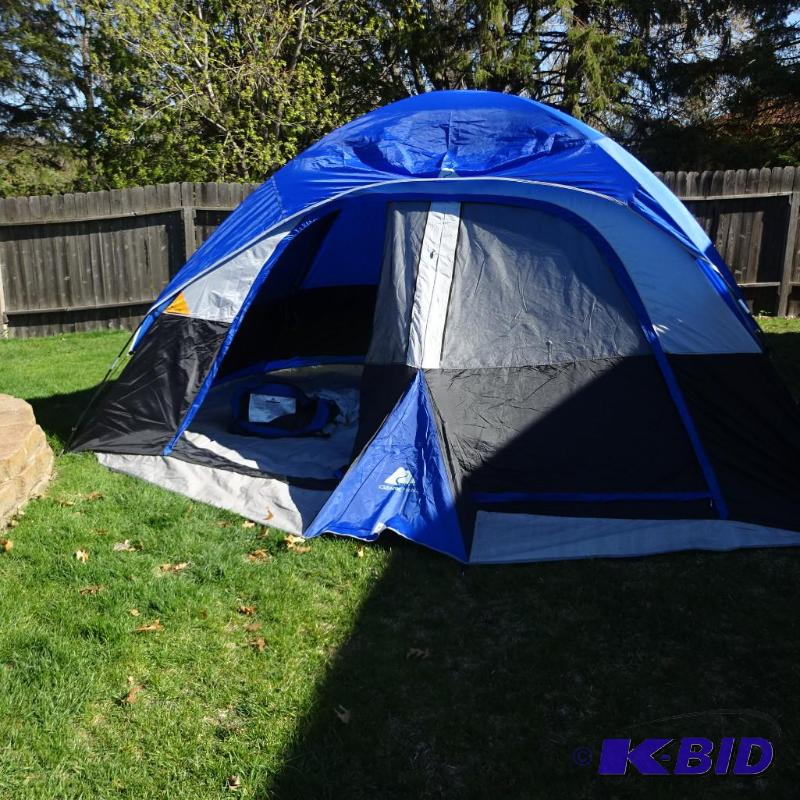 Ozark Trail Dome Tent. Excellent Shape Model ... | K u0026 C Auctions Blaine 27 | K-BID & Ozark Trail Dome Tent. Excellent Shape Model ... | K u0026 C Auctions ...