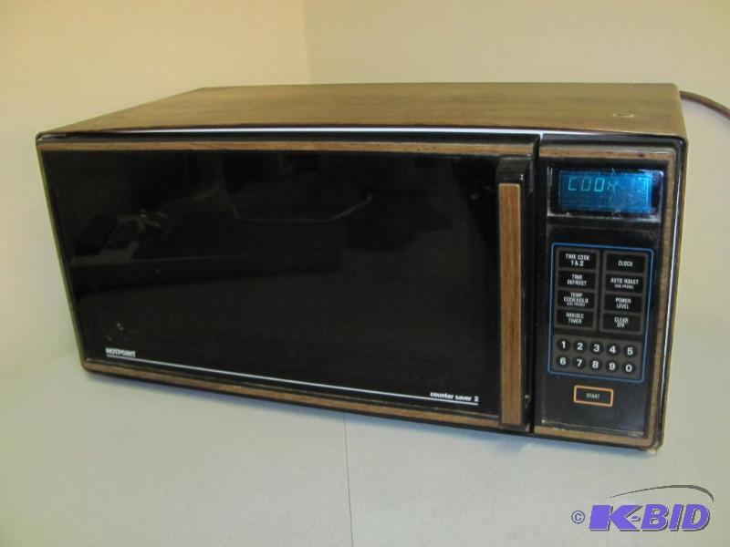Hotpoint Counter Saver 2 Microwave Model Re Artwork Framing Complete Liquidation 1 K Bid
