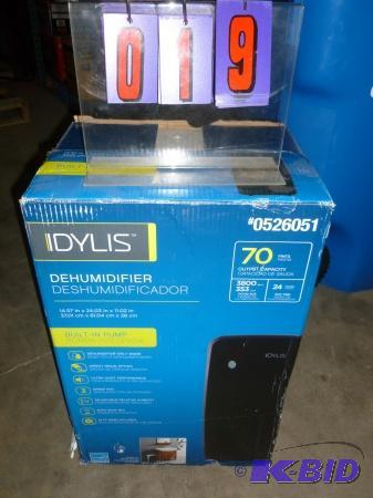 Idylis dehumidifier  70 pint capacity  Appear    | SnS Auctions