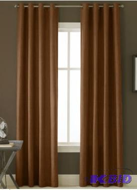 Linden Street Bennett Grommet Top Curtain 2 Panels 50 X 84 Each Panel Burnt Henna
