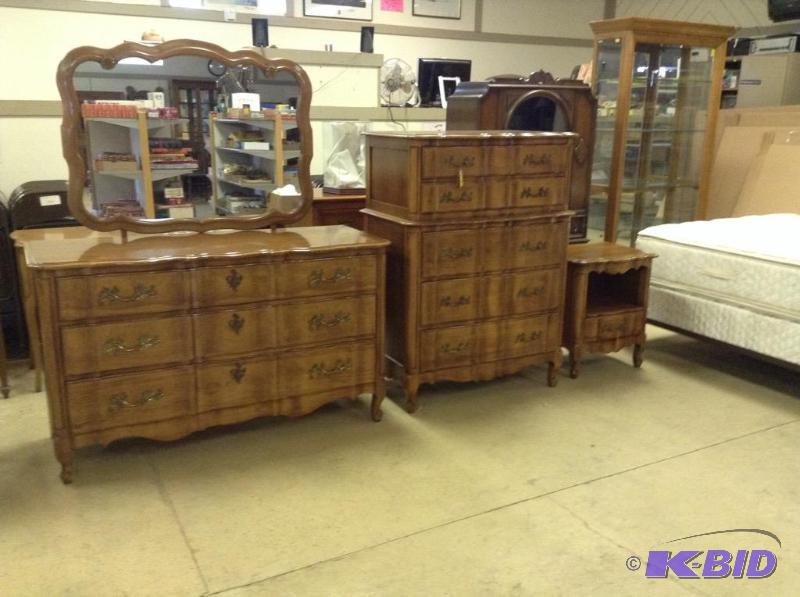 Vintage Kent Coffey French Provincial Bedroom Set | Apple Valley ...