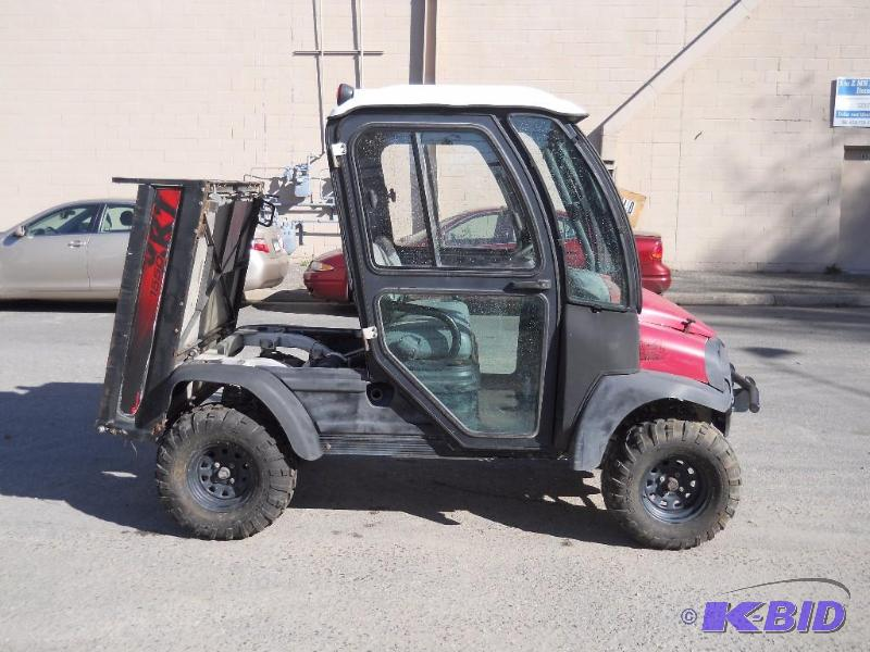 2011 Club Car Xrt 1550 Utility Vehicle No Reserve Boom