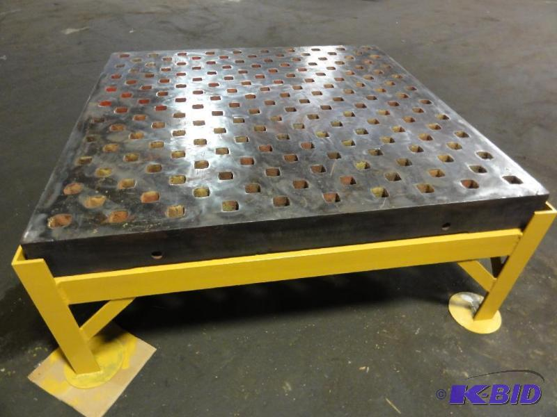 5 X 5 Welding Table Amp Stand Acorn Type Platen Layout