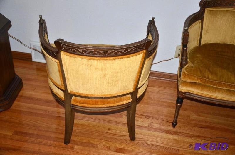 Two Matching Vintage Statesville Chair Co Amp Nbs