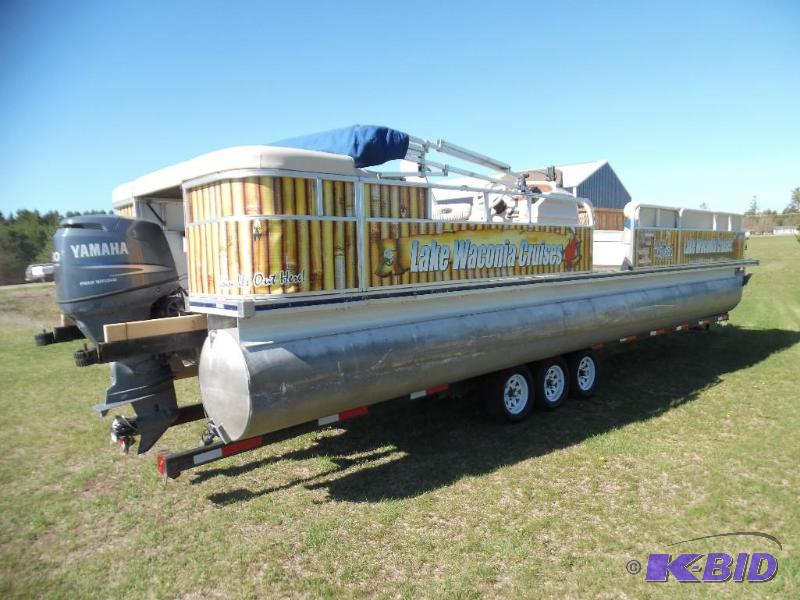 2009 Palm Beach Deluxe 300 Pontoon We Sell Your Stuff