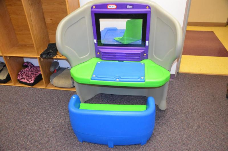 Little Tikes IBM Center With Lenovo Computer ... | Whiteford Commercial  Playground, Restaurant Equipment, 300u0027 Commercial Fence, Furniture, Lake  Shore ... Nice Ideas