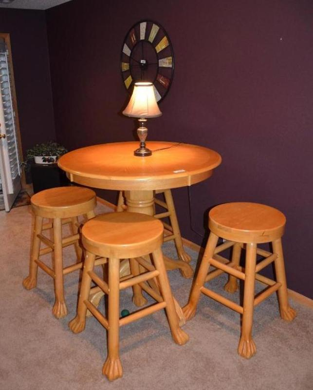 Excellent Rare Claw Foot Table And 4 Claw Foo Whiteford Maple Caraccident5 Cool Chair Designs And Ideas Caraccident5Info