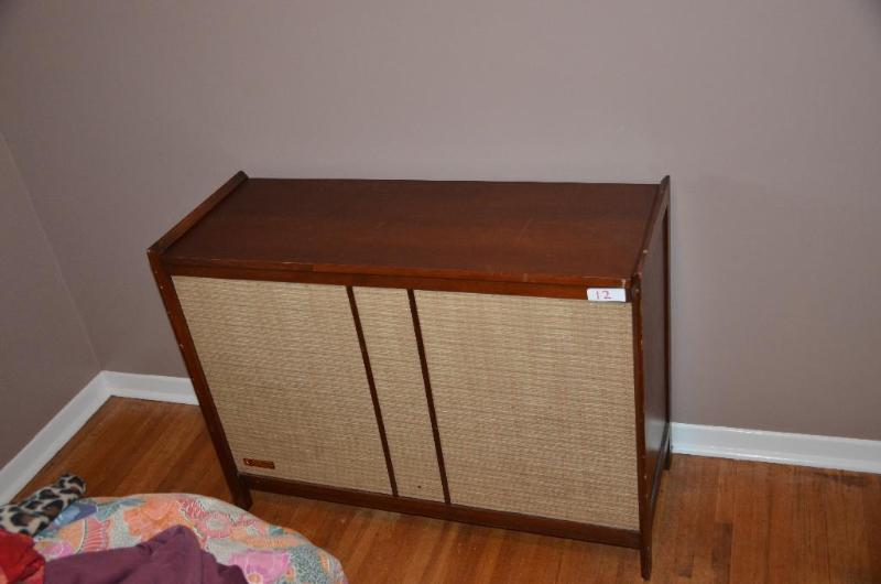 bargain kitchen cabinets vintage stereo cabinet converted to storage 4 10920