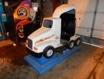 Semi Truck Amusement Kiddie Ride. Coin Operated. Untested.