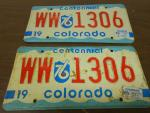 1976 Vintage/Antique License Plates...