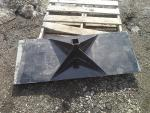 "Receiver Plate for Skid Steer, 20"" ..."