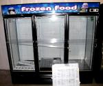 Freezer Merchandiser    Three secti...