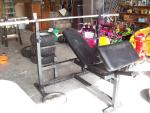 Extreme Trainer Weight Bench -(4) 4...