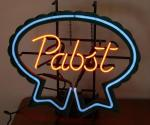 Pabst neon sign 22x22 Lights Up!